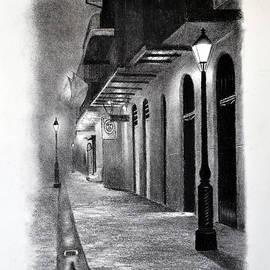 Ron Landry - Evening Walk Down Pirate Alley