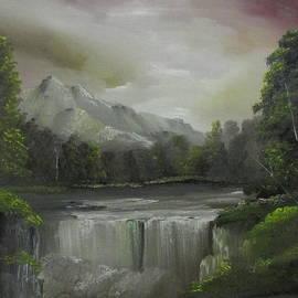 Dawn Nickel - Evening waterfalls