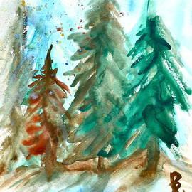Beverley Harper Tinsley - Evergreen Forest