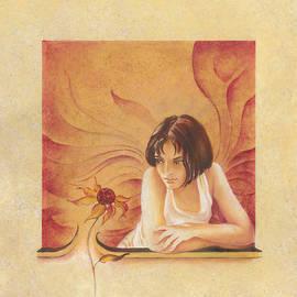 Anna Ewa Miarczynska - Everyday Angel with Flower