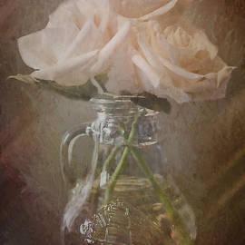 Jordan Blackstone - Everything Comes By Being - Vintage Flower Art
