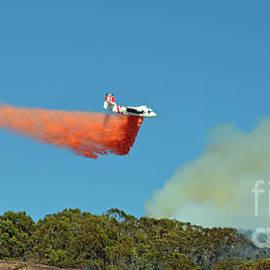Jim Fitzpatrick - Extinguishing the Fire On San Bruno Mountain near San Francisco II