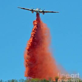 Jim Fitzpatrick - Extinguishing the Fire On San Bruno Mountain near San Francisco