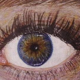 Savanna Paine - Eye Drawing