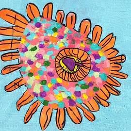Zoe Gelinas - Eye of the Sunflower