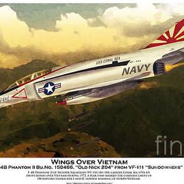 Kenneth De Tore - F4-Phantom Wings Over Vietnam
