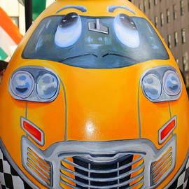 Photographic Art and Design by Dora Sofia Caputo - Faberge Easter Egg - New York City Yellow Cab