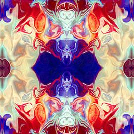 Omaste Witkowski - Facing The Unknown Abstract Healing Artwork by Omaste Witkowski