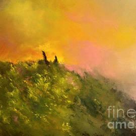 Maja Sokolowska - Fading hopes oil painting