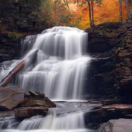 Gene Walls - Fading October Daylight On Shawnee Falls