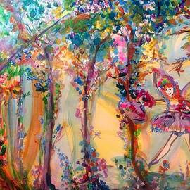 Judith Desrosiers - Fairy in the magical wood