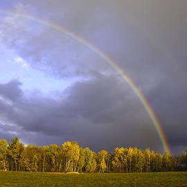Kevin Snider - Fall double rainbow