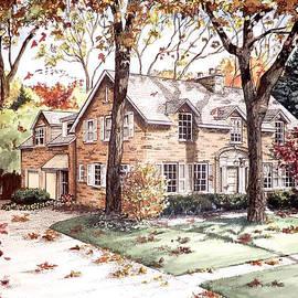 Mary Palmer - Fall Home Portriat
