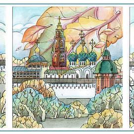 Khromykh Natalia - fall in ancient City