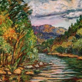 Kendall Kessler - Fall New River Scene