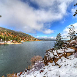 Eddie Yerkish - Fall Snow Storm at Big Bear Lake