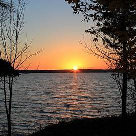 Rhonda Humphreys - Fall Sunset at Long Lake