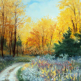 Laura Tasheiko - Fall Woods Road
