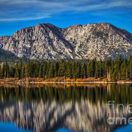Mitch Shindelbower - Fallen Leaf Lake Reflections