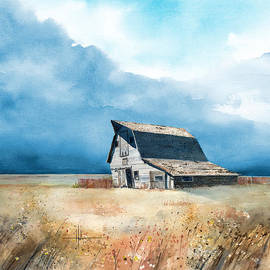 Richard Hahn - Falling Barn