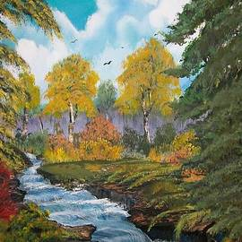 Sharon Duguay - Rushing Waters  Falls