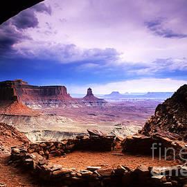 Bob Christopher - False Kiva Canyonlands Utah