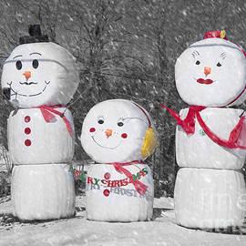 Alana Ranney - Snowman Family