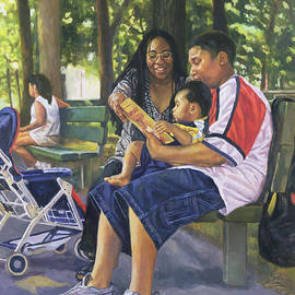 Colin Bootman - Family in the Park