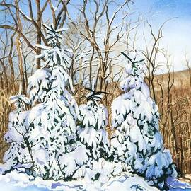 Barbara Jewell - Family of Four Trailside at 7 Springs