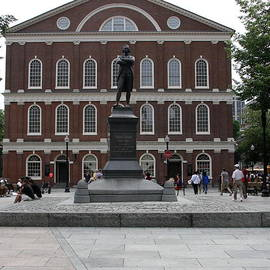 Christiane Schulze Art And Photography - Faneuil Hall Boston