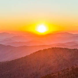 Pierre Leclerc Photography - Fantastic Sunset in the Great Smoky Mountains