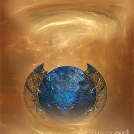 Giada Rossi - Fantasy art - Birth of a planet by RGiada