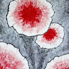 Ben Gertsberg - Fantasy Flowers In Red No 1