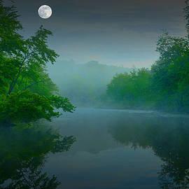 Geoffrey Coelho - Fantasy Moon over Misty Lake