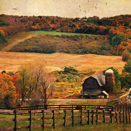 Lianne Schneider - Farm Country Autumn - Sheldon NY