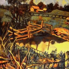 Kendall Kessler - Farm Pond Reflections