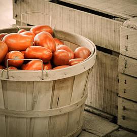 Julie Palencia - Farmers Market Plum Tomatoes