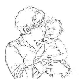 Olimpia - Hinamatsuri Barbu - Father and son