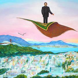 Asha Carolyn Young - Father Flies the San Francisco Sky