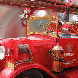 Colette V Hera  Guggenheim  - Featured Old Fire Engine Denmark