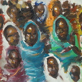 Negoud Dahab - femme du Darfour