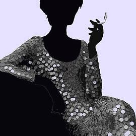 Saundra Myles - Femme Fatale c1960 Shaken Not Stirred