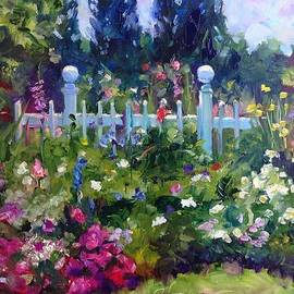 Carol Hopper - Fence Flowers