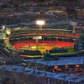 Joann Vitali - Fenway Park at Night - Boston