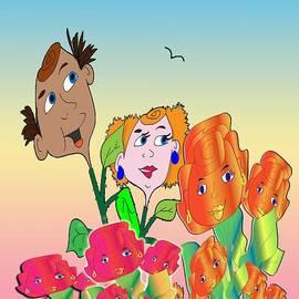 Iris Gelbart - Fern and Freds Garden