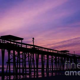 Dawna  Moore Photography - Fernandina Fishing Pier at Sunrise