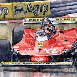 Yuriy Shevchuk - Ferrari  312T4 Gilles Villeneuve Monaco GP 1979
