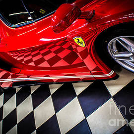 Rene Triay Photography - Ferrari Enzo in the Winners Circle