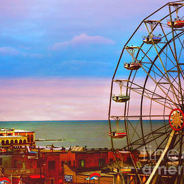 Beth Ferris Sale - Ocean City New Jersey Ferris Wheel And Music Pier