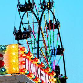 Catherine Sherman - Ferris Wheel at the County Fair